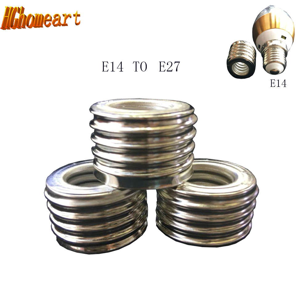 HGhomeart 10Pcs E14 E27 Adapter Light Bulb Splitter Lamp Holder Adapter E27 E14 Bulb Holder Light Bulb Socket