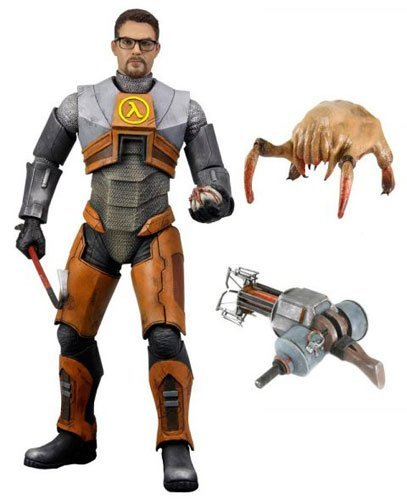 Коллекционная фигурка Half-Life 2 Гордон Фримен