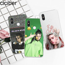 ciciber Billie Eilish For Xiaomi MIX MAX 3 2 1 S Pro TPU For Xiaomi A2 A1 8 6 5 X 5C 5S Plus Lite SE Poco Phone F1 Case Coque(China)