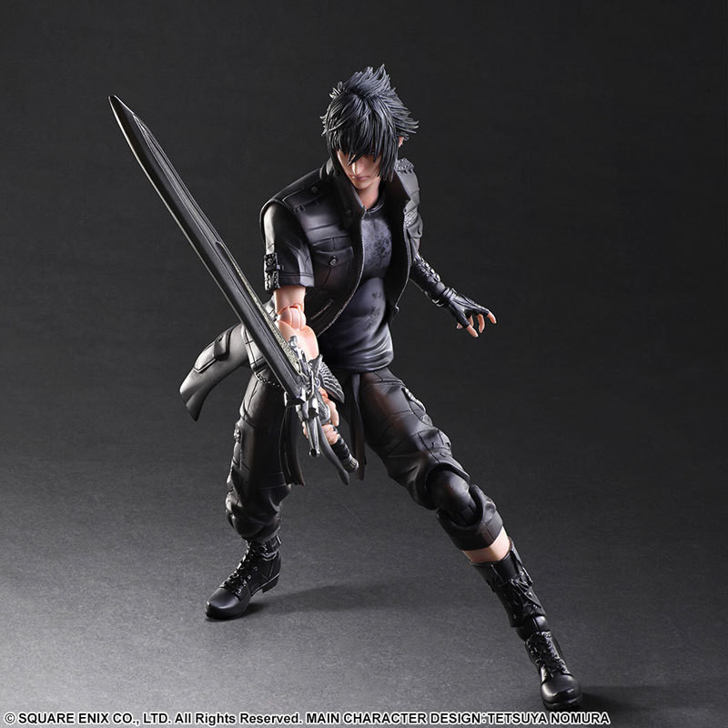 Final Fantasy Action Figure Play Arts Kai Noctis Lucis Caelum Anime Final Fantasy 15 Model Toys 270MM Playarts playarts kai final fantasy xv ff15 noctis lucis caelum pvc action figure collectible model toy
