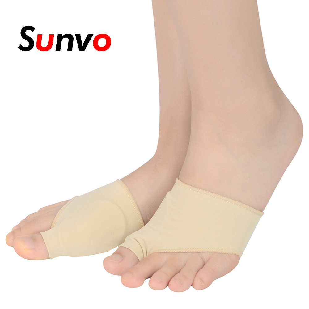 Sunvo Bunion Sleeve Big Toes Overlapping Correction Sock Hallux Valgus Corrector Toe Thumb Massage Foot Pain Relieve Pad Inserts