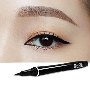 Image 5 - IMagic 4 Mỹ Phẩm Trang Điểm Đen Mascara Màu Kẻ Mắt Bút Chì 14 Màu Lấp Lánh Phấn Mắt Có Bút Kẻ Lông Mày