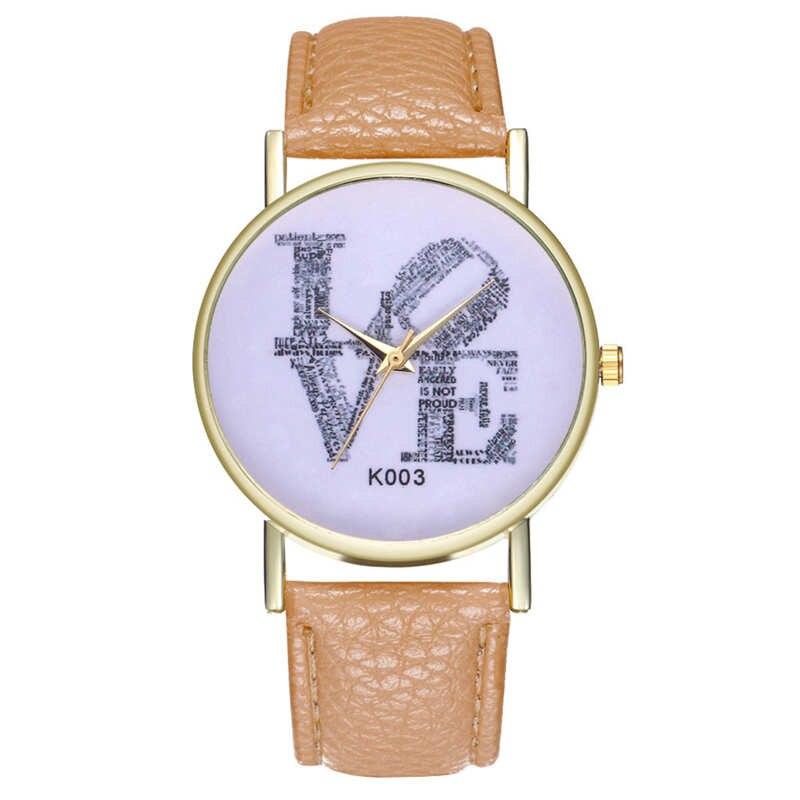 Women's Watches Best Sellers Fashion Stylish Minimalist Letter Pattern Watch De Luxe Marque Montre Femmes De Quartz Clock @50