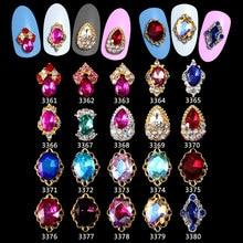 Nail Art Decorations Rhinestones 100pcs Glitter 3d Metal Alloy New Arrive,Alloy Charms, Jewelry Nails ****3361-3380