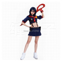 Fashion Anime Kill La Kill Cosplay Clothes Matoi Ryuuko Cosplay Costume Women Gir LSex Gallus Dress
