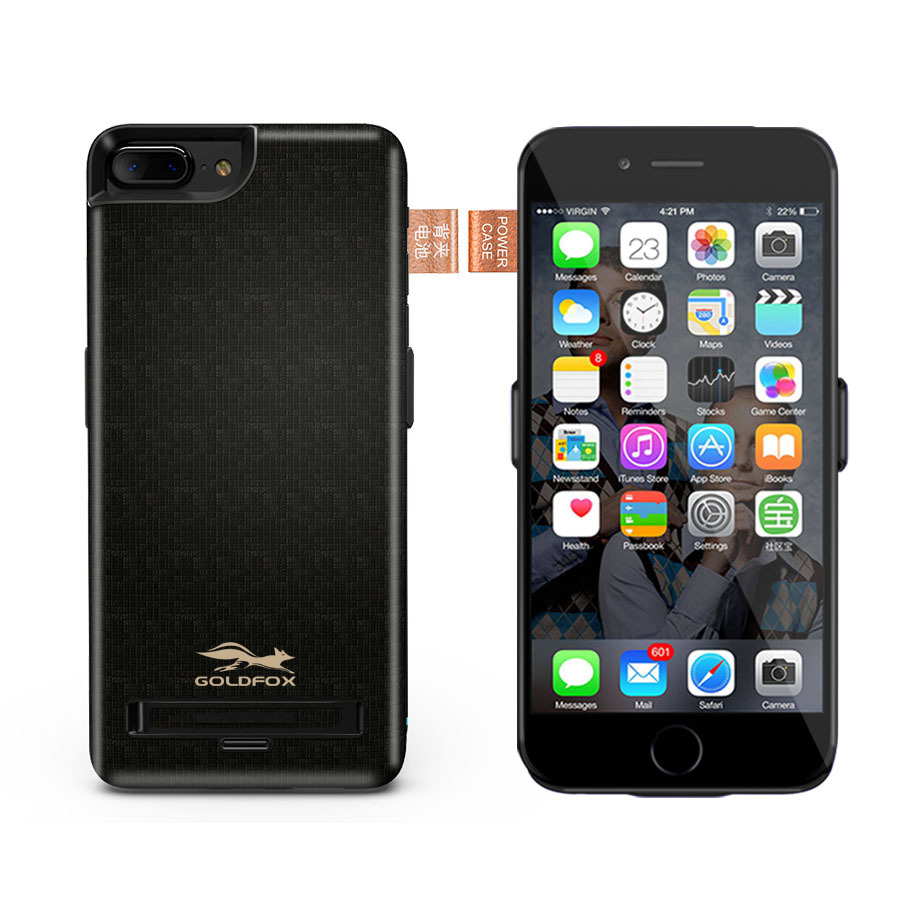 Big Capacity 5500 7500mAh Battery Charger Case For iPhone 6 6S Plus Backup External Battery font