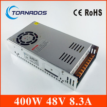 High Quality led power supply switch 400W 48v 8.3A ac dc converter power supply 48v 8.3a variable dc voltage regulator S-400-48