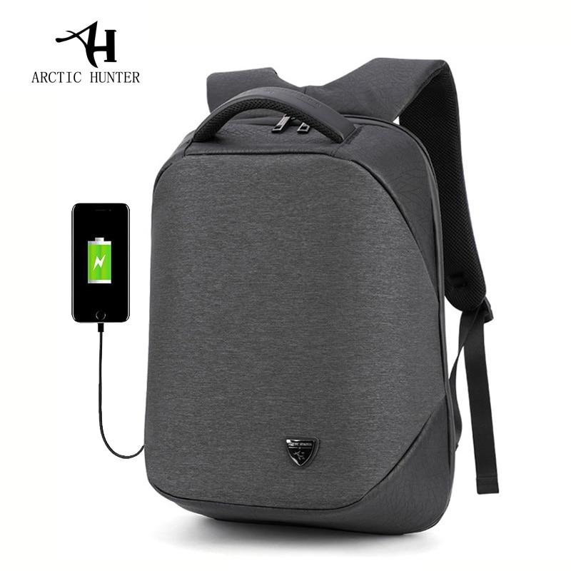 ARCTIC HUNTER School Backpack 15 6Inch Laptop Backpacks Men Waterproof Mochila Casual Business Male Bag Travel