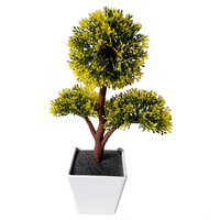 UESH Artificial Plants Bonsai For Home Decorative Artificial Plastic Trees Artificial Flowers For Decoration Imitation Potted