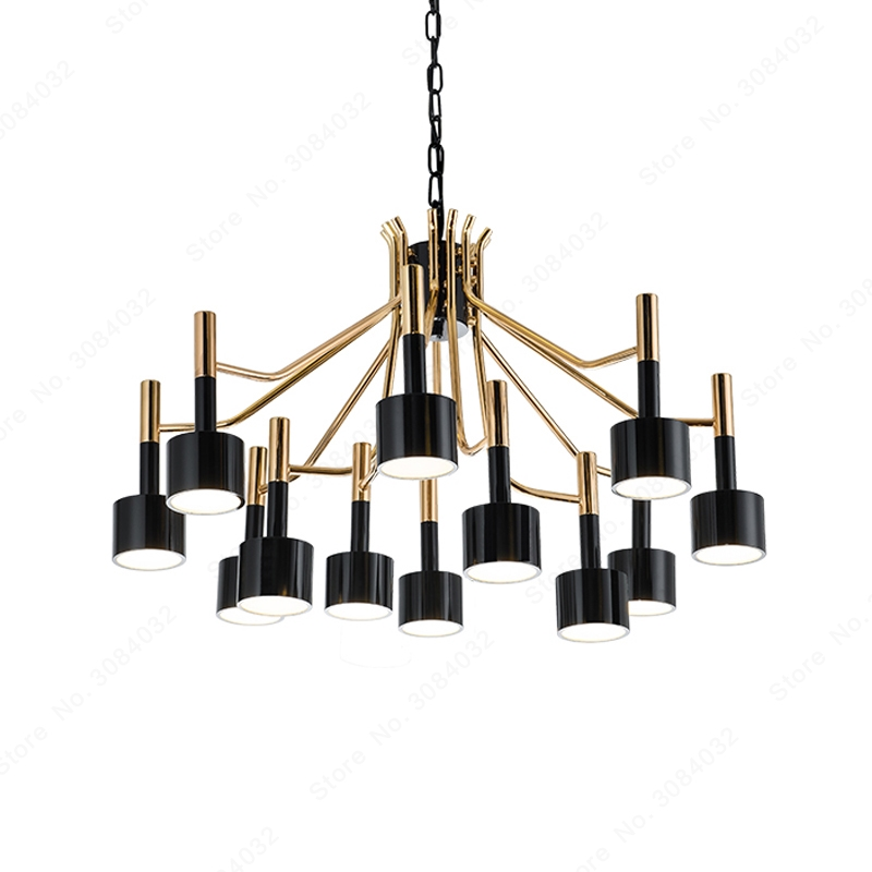 90 BDBQBL 12/15 Cabeças Luzes Pingente de Ferro Nordic Simples AC-260 V G4 Luminária Personalidade Originalidade Quartos Hanglamp