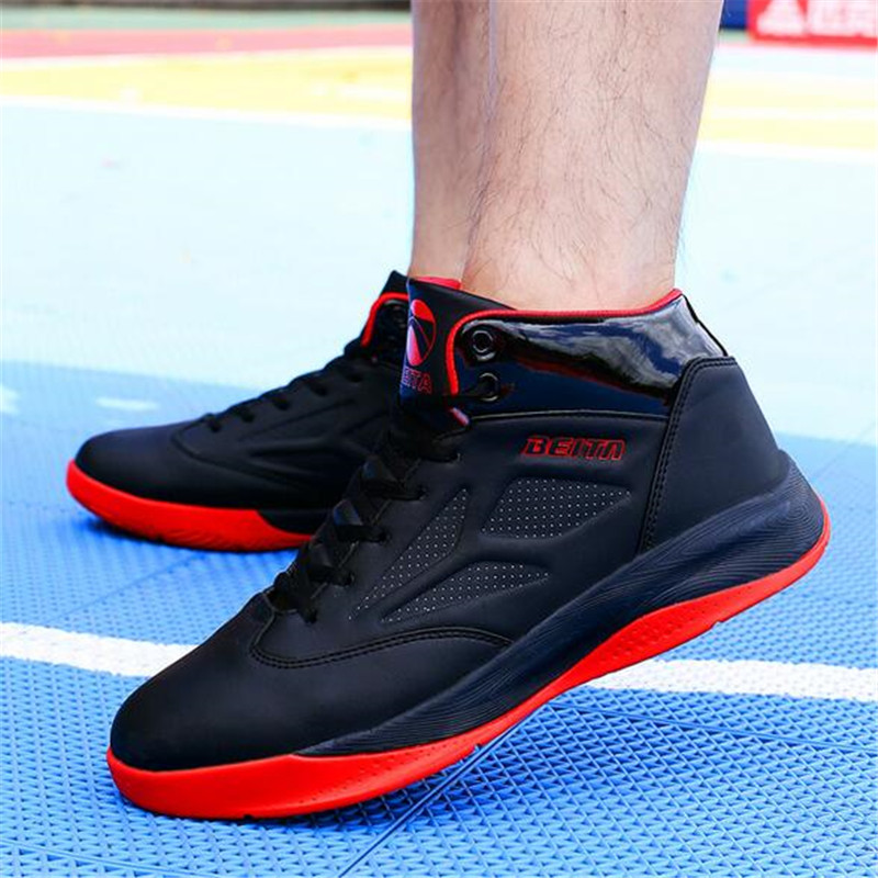 Men's Anti-slip Comfortable Basketball Shoes Professional Basketball Sneakers Support Sports Shoes BT5702 original li ning men professional basketball shoes