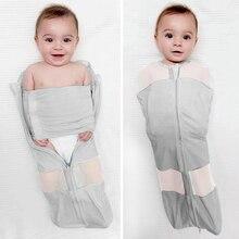 Спальные мешки для младенцев, пеленальный конверт-кокон для новорожденного ребенка 0-3 и 0-6 месяцев, детское одеяло, Пеленальное Одеяло для сна