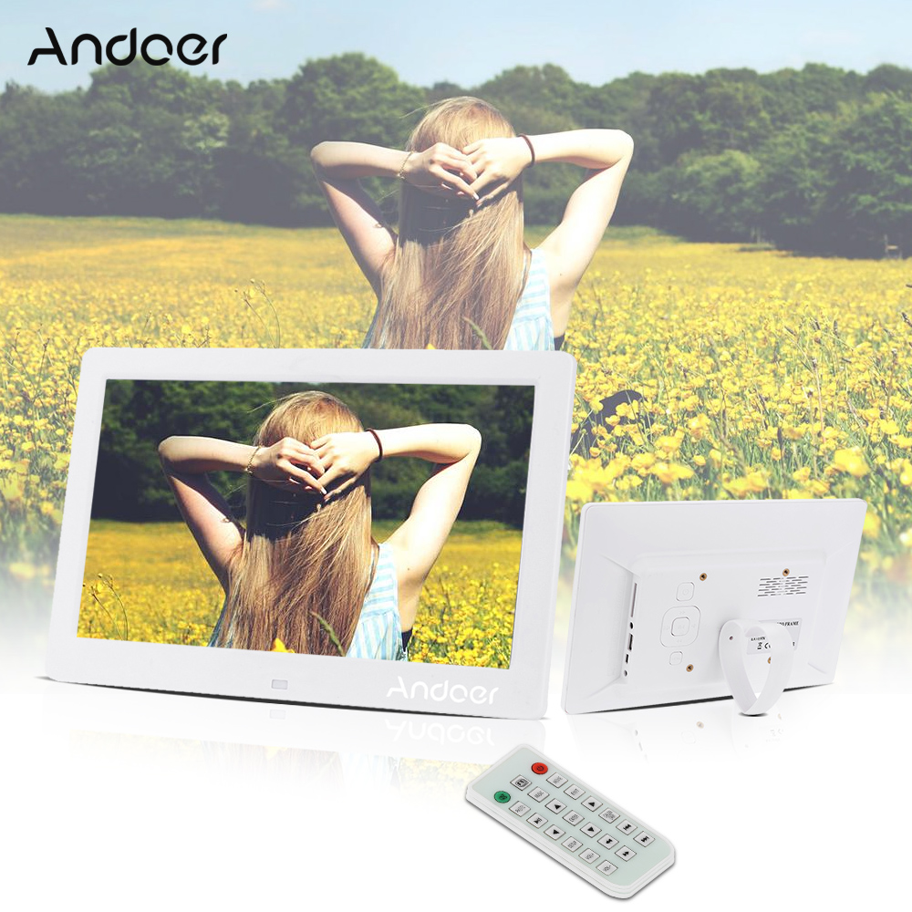 """Andoer 10.1"""" HD Electronic Digital Photo Frame with Album"""
