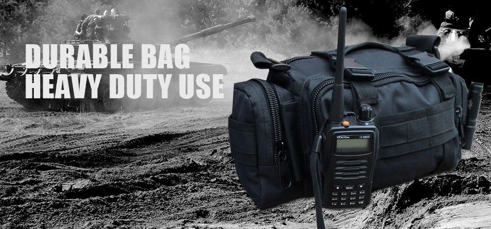 Лучший!  Аварийный Тактический Комплект Черные Спортивные Сумки Военная Талия Пакет Молл Открытый Мешок