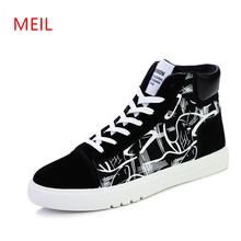 High Quality Men hidden heel Canvas Shoes 2018 Fashion top Mens Casual Breathable Man Lace up Youth