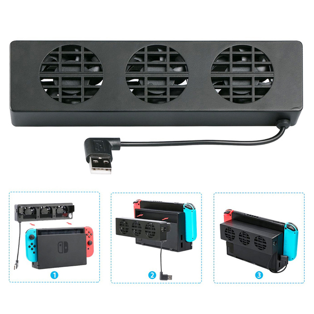 USB Cooling Fans for Nintendo Switch