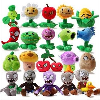 20pcs/lot Plants vs Zombies PVZ Plants & Zombies Plush Toys Plants vs Zombies Plush Toy Soft Stuffed Toys Doll for Kids Gifts фото