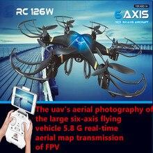 5 8G fpv rc drone RC126 WIFI FPV rc drone 2 4G 4CH 6 Axis Gyro