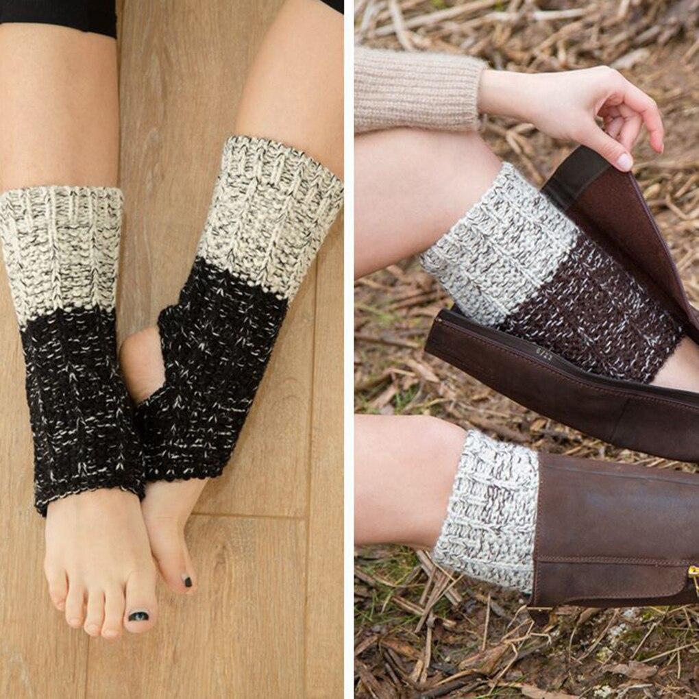 1 Paar Acrylon Zachte Vrouw Latin Ballet Sokken Fitness Dansen Meisje Winter Gebreide Beenwarmers Toppers Manchetten Nieuwste Technologie