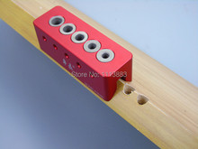Hand Tap Guide Size 6mm 8mm 10mm 5 Holes V-Drill Guides Portable Drilling Guide Kit With Drill Bit Guide Bushings цена