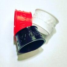 10 шт./лот ракетка для бадминтона Силиконовое кольцо/ручка Силиконовая втулка/овергрип