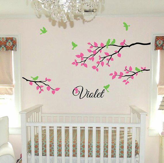 Aliexpresscom Buy CP Personalized Name Wall Decal Children - Personalized custom vinyl wall decals for nurserypersonalized wall decals for kids rooms wall art personalized