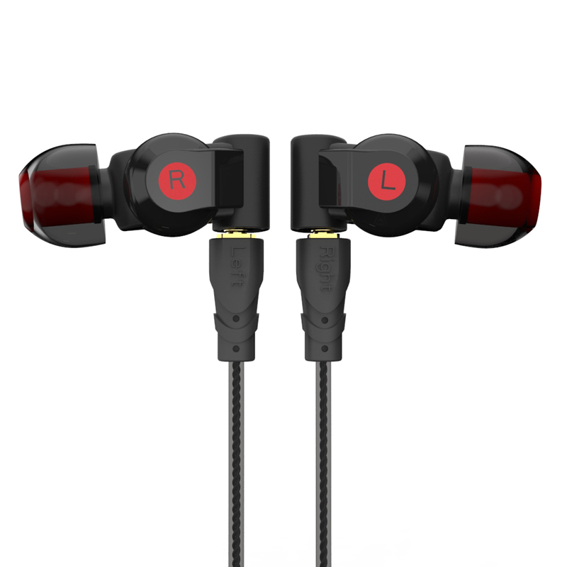 Pizen NUOVO SENFER XBA 6in1 EARPHONE 1DD + 2BA Hybrid 6 Drive Unit In Ear Auricolare DJ HIFI Earplhones con interfaccia MMCX vs zs10 ba