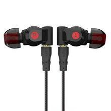 Pizen SENFER XBA 6in1 Earphone 1DD+2BA Hybrid 6 Drive Unit In Ear Earph
