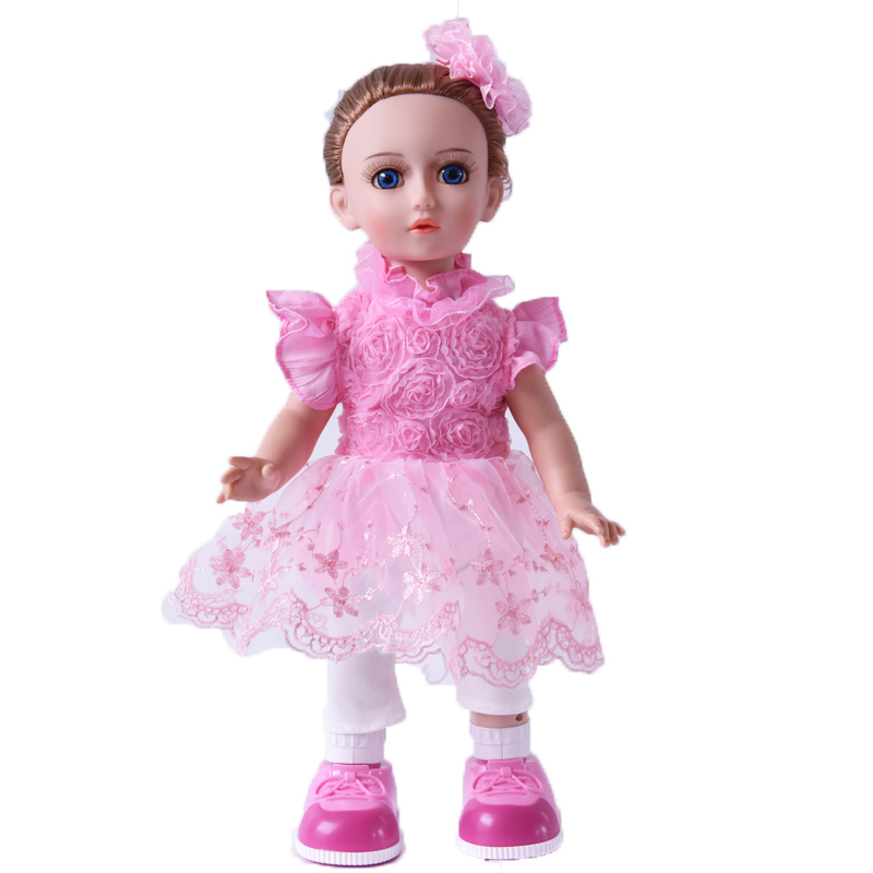 Princess Anna 16'' 42cm interactive doll talking dancing Russian speaking walking doll girl gift a russian doll
