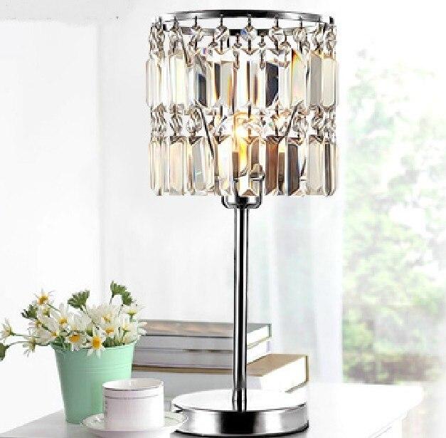 Новая современная мода кристалл исследования столовая освещение настольные лампы настольная лампа настольная украсить свет для SJ139 ...