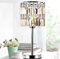 New Modern Fashion Crystal Study Dinning Room lighting table lights Table Lamp Desk Decorate Light For SJ139