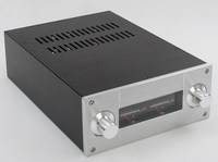 NEW arrive YJ WA53 tube amplifier chassis aluminum amplifier enclosure amp case ,aluminium chassis vu meter amplifier enclosure