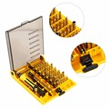 45 em 1 kaisi multiuso precisão chaves de fenda kit de reparação de abertura phone tools conjunto para iphone 4/4s/5 para samsung para ipad