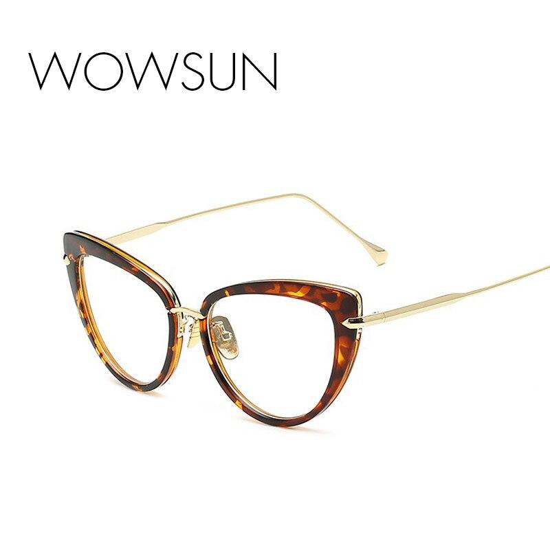 っWOWSUN Women Cat Eye Sunglasses Brand Designer Eyewear Frames ...