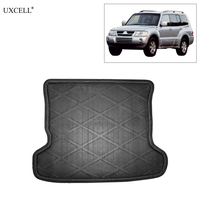 Uxcell Car Rear Trunk Floor Mat Cargo Boot Liner Carpet Tray for Mitsubishi Pajero V73