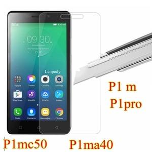Закаленное стекло для lenovo vibe p1m p1 m p1 m P1mc50 P1ma40 c50 a40 защитное стекло GLAS фильм для мобильный телефон lenovo