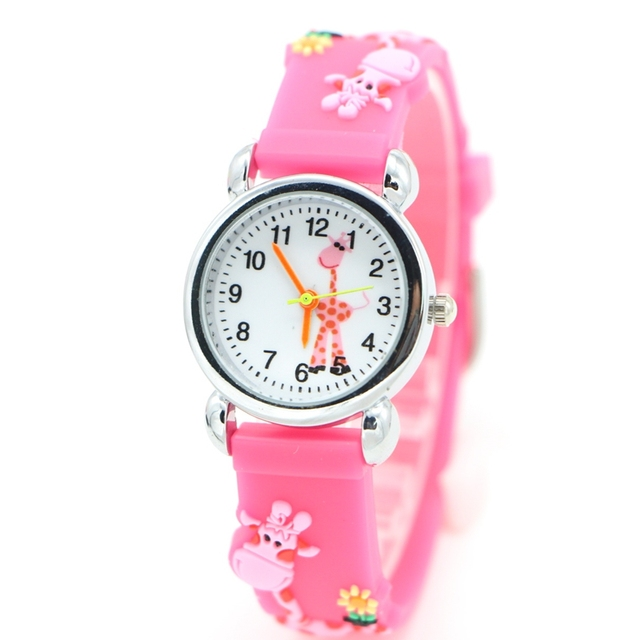 Environmental protection deer Design Watch Children Kids Girls Boys Students fas