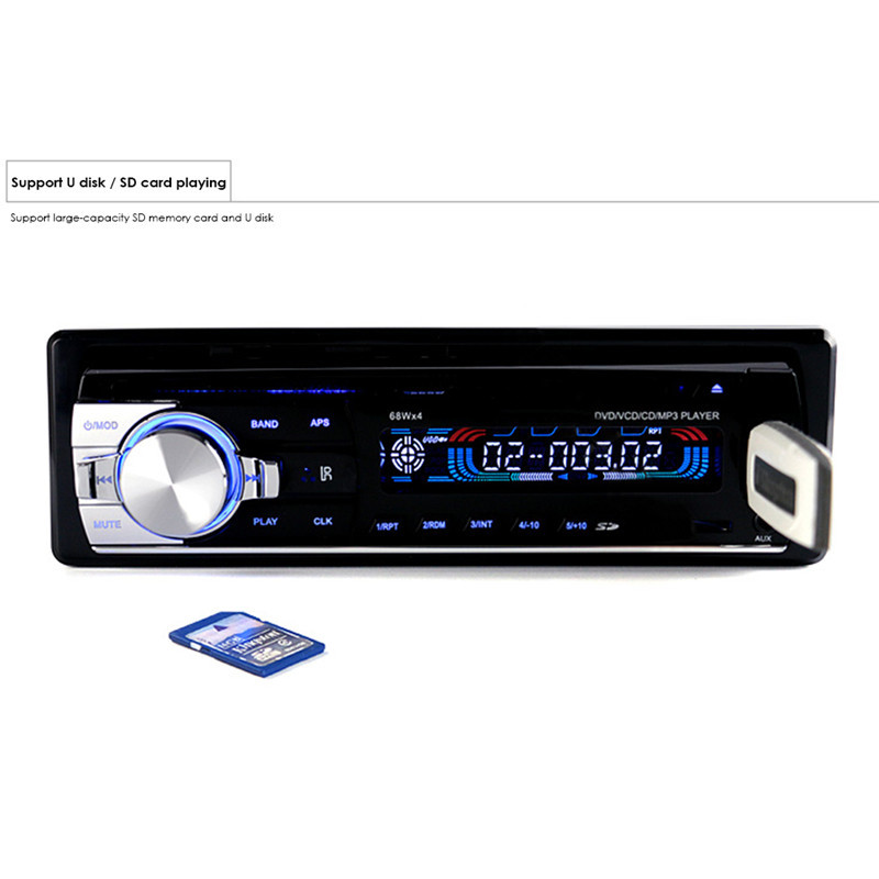 Original Car Radio Stereo Player 5127 Bluetooth Phone AUX-IN MP3 FM/USB/1 Din/Remote Control Iphone 12V Car Audio Car Electronic latest car radio bluetooth stereo player audio dvd mp3 player fm usb radio 1 din remote control 12v auto radios