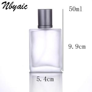 Image 4 - Nbyaic1Pcs30ml50ml100ml Frosted Glass Empty Bottle Sprayable Enough Spray Bottle Odor Travel Size Portable Reuse Perfume Bottles