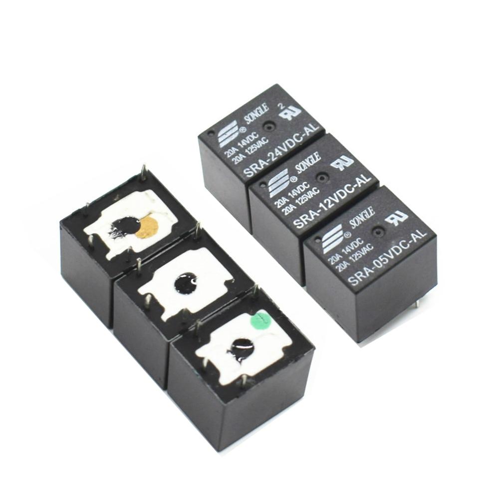 Automotive Relays SRA-05VDC-AL SRA-12VDC-AL SRA-24VDC-AL 5V 12V 24V 20A T74 4PIN Relay Wholesale Price