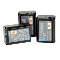 DSTE 3 Pcs 1950 MAh NP FW50 Rechargeable Battery For Sony NEX 7 NEX 5N NEX