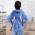 Фотографии Малыш Мальчики Девочки Партия Одежды Pijamas Фланелевые Пижамы Ребенок Пижамы С Капюшоном Пижамы Мультфильм Животных Стежка Косплей