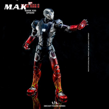 1/9 Diecast Movable Figure DFS040 Iron Man 3 MK22 Collectible Figure for Collection Gift 1 9 diecast figure series dfs023 iron man mark1 collectible dolls figures collections