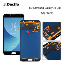AMOLED/TFT For Samsung Galaxy J4 J400 J720 SM- J400F J400G LCD Display Monitor Touch Screen Digitizer Sensor Glass Assembly black for samsung galaxy tab a 7 0 sm t285 t285 touch screen sensor glass digitizer lcd display panel monitor assembly frame