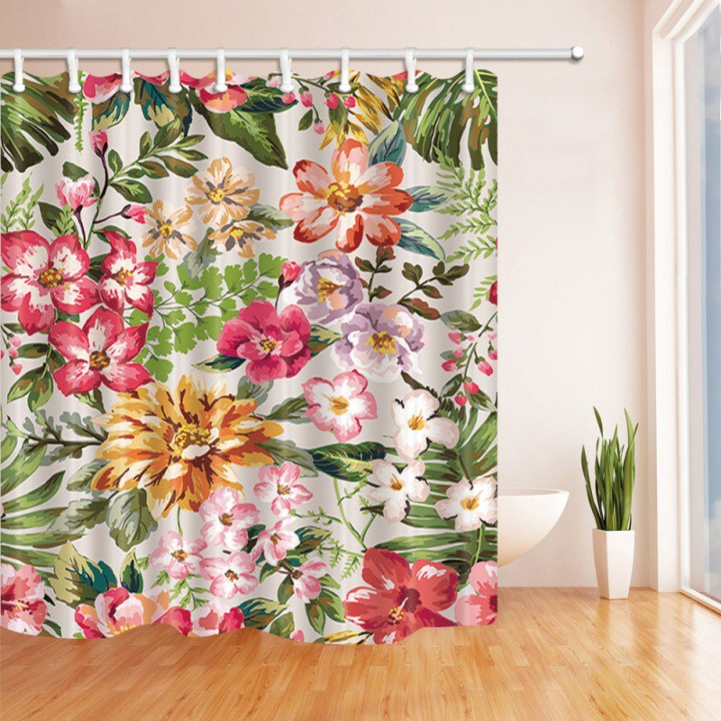 180X180cm High Quality Different Waterproof Bathroom African Woman Shower Curtain Polyester Fabric Bathroom Curtain