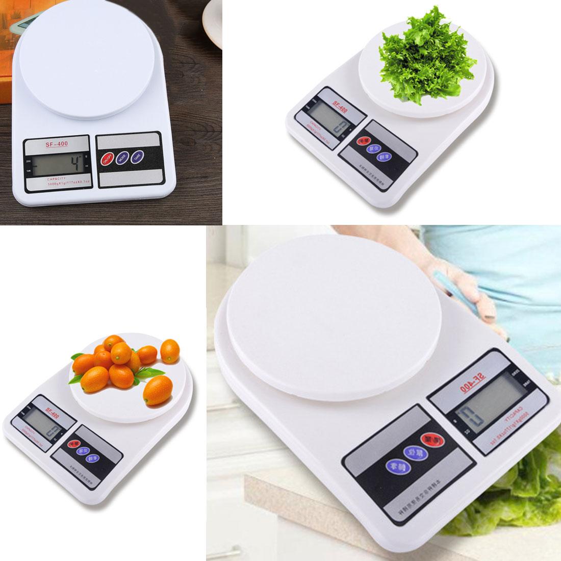Hohe Qualität 10 kg x 1g Digital Waage Küche Waagen Elektronische Balance 10000g Obst Waage für Ernährung bodybuilding