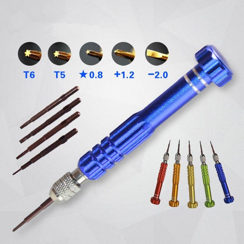 5 in 1 screwdriver set phone repair screwdriver kits hand tool set phone opening for iphone. Black Bedroom Furniture Sets. Home Design Ideas