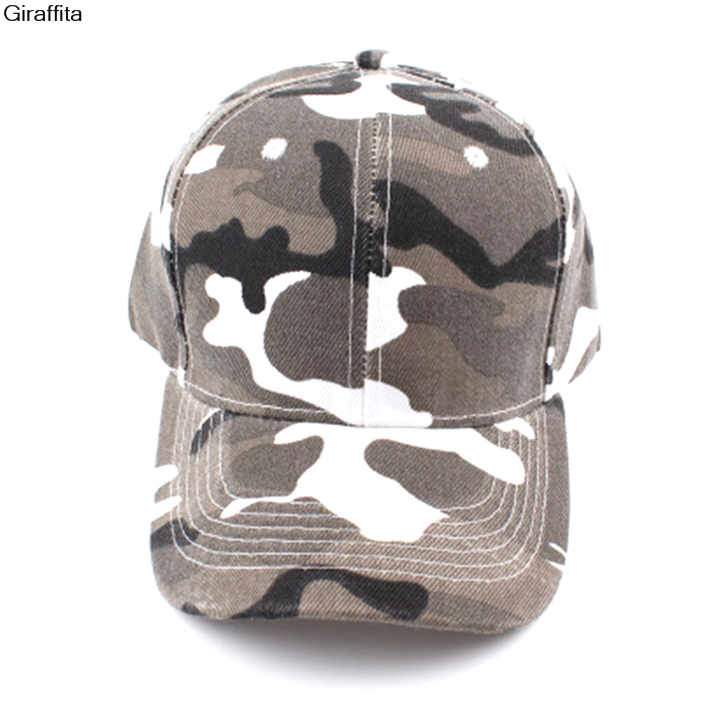 Camouflage Half Mesh Army Hat Baseball Cap Desert Jungle Snap Camo Cap Men Women Hats