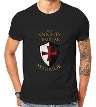 Knights Templar Christian Warrior Religion For God Jesus T Shirt Gift Xmas Birth  Free shipping Tops Fashion Classic Unique gift