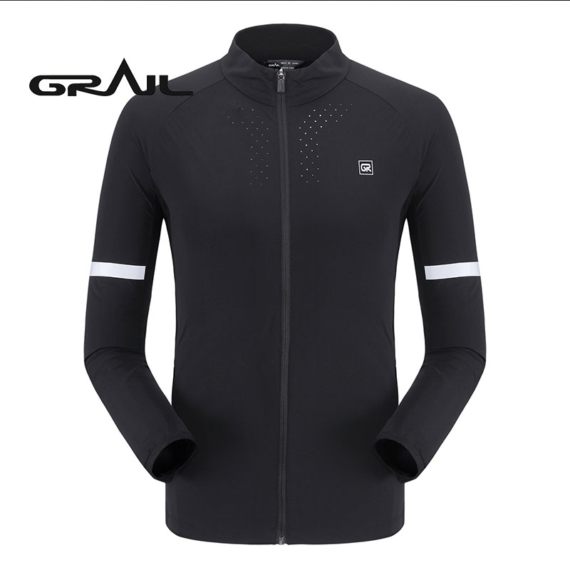 GRAIL Men Outdoor Sport Jacket Anti-sweat Jacket Superdry Coat For Camping Hiking M18036